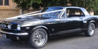 1967 Black GT Mustang Coupe